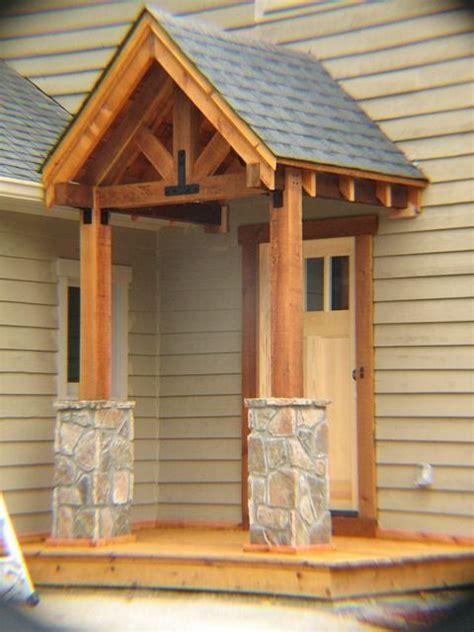 post  beam portico shutters window trim fine homebuilding porch design house