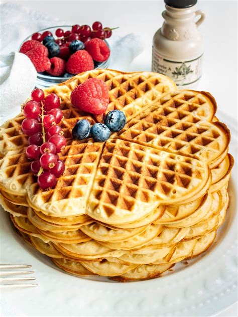 easy waffle recipe craving home cooked