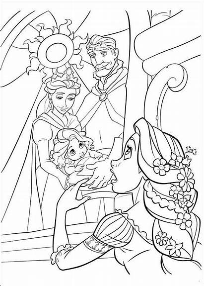 Tangled Coloring Pages Fun