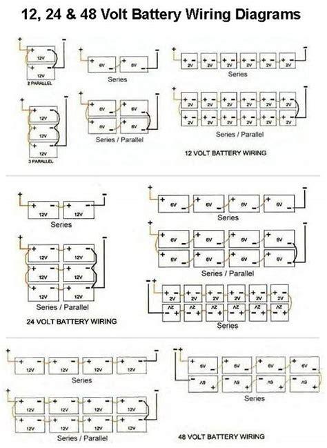 Battery Bank Wiring Diagrams Volt Series