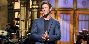 Chris Hemsworth Turned Down Racially Charged Avengers SNL ...
