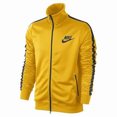 Nike Yellow Jacket Track Tribute Sports Jackets