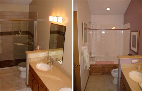 small bathroom renovations    small