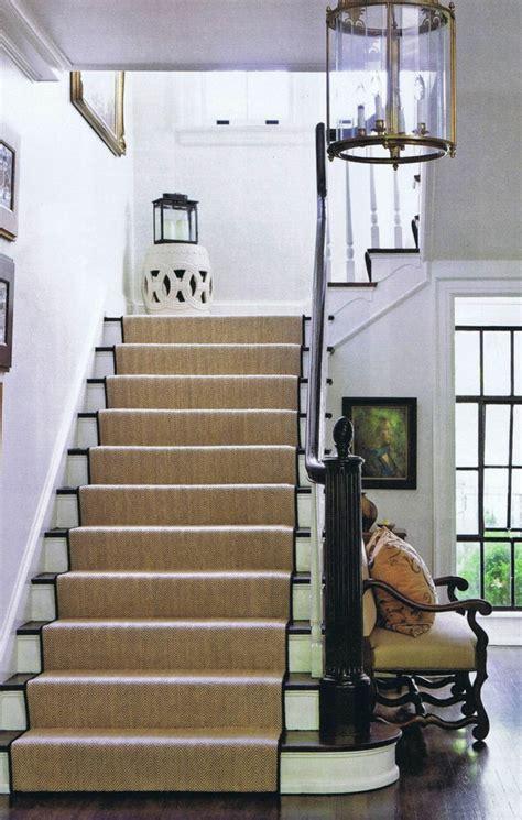 tapis pour escalier interieur le tapis pour escalier en 52 photos inspirantes