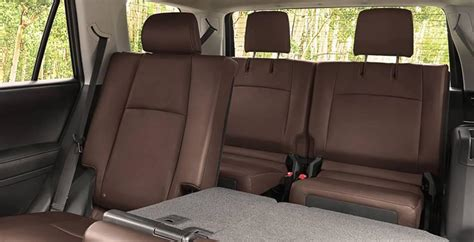 Toyota Rav4 Third Row Seat by Does The Toyota 4runner Third Row Seating 3rd Row