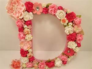 floral letter flower letter personalized letter With decorative letters with flowers