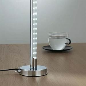Luminaire Sur Pied : lampe pied led luminaire lampe led triloc ~ Nature-et-papiers.com Idées de Décoration