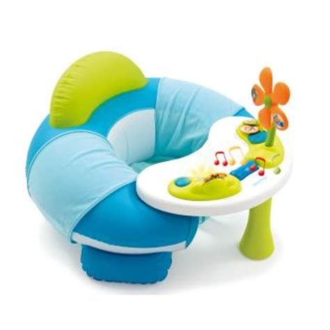 cotoons siege gonflable si 232 ge gonflable smoby cotoons cosy seat bleu jeu d 233 veil
