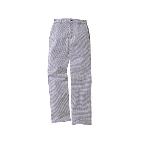 pantalon pied de poule cuisine pantalon de cuisine pied de poule lafont 1fch87co bleu