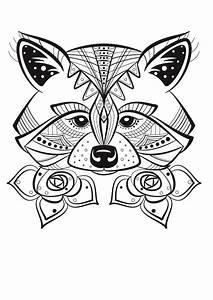 Dessin De Plume Facile : renard colorier doodles doodles printable coloring coloring pages et mandala drawing ~ Melissatoandfro.com Idées de Décoration