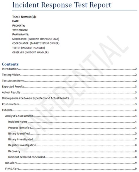 Pci Incident Response Plan Template by Incident Response Plan Template Pci