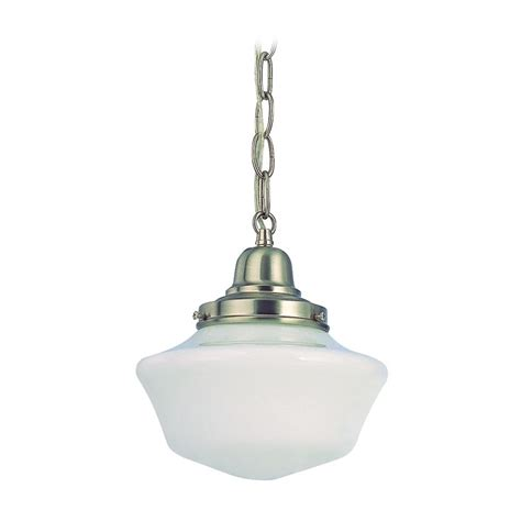 8 inch period lighting schoolhouse mini pendant light in