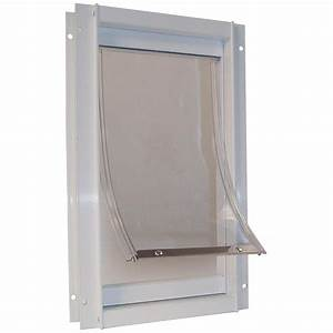Shop Deluxe Aluminum XX-large White Pet Door (Actual: 20