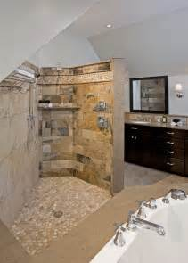open shower bathroom design transitional bathrooms designs remodeling htrenovations