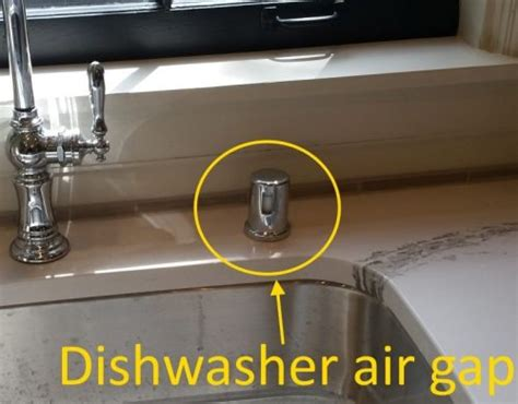 kitchen sink air gap dishwasher air gap code pictures to pin on 5618