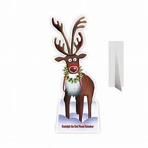 Renne En Carton : rudolph le renne en carton taille r elle ~ Melissatoandfro.com Idées de Décoration