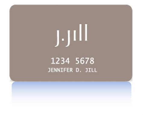 We did not find results for: J Jill Credit Card