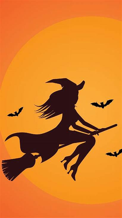 Halloween Iphone Backgrounds Witch Wallpapers Hintergrundbilder Witchy