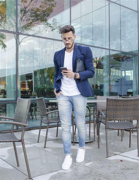 Outfit Men Fashion Men Blazer white Adidas Zara - www.rodrigoperek.com http//www.99wtf.net ...