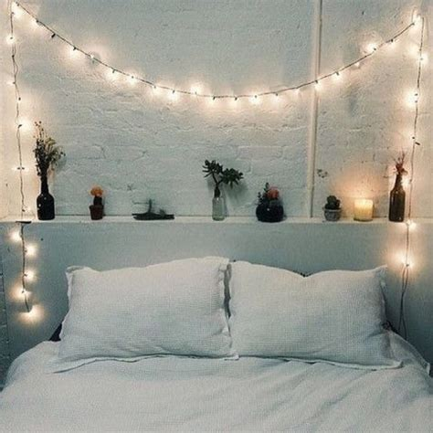 cool string lights ideas   bedroom shelterness