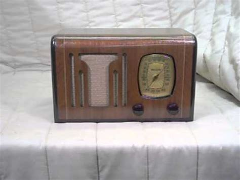1939 philco 39 6 antique wood vintage radio