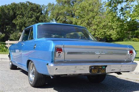 1964 Chevrolet Nova Blue Automatic 3,000 Miles