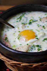 Poached Egg Soup (Changua Con Huevo) Recipe — Dishmaps