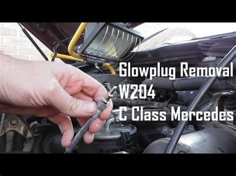 class glowplug removal replacement guide youtube