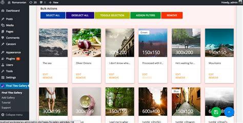 image photo gallery final tiles grid wordpress plugin