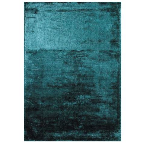 tapis haut de gamme bleu turquoise douceur teal par joseph