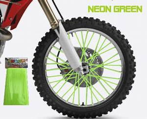 Color Spokes Style Neon Green MX Kingz Motocross Shop