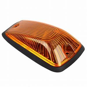 5x264159am Cab Roof Top Marker Light Amber Lens 5xbase