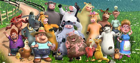 Barn Yard Cast by Review Barnyard The Original Animals Cg Review