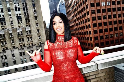An Afternoon With Cardi B As She Makes Money Moves
