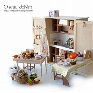 17 Best Images About Dollhouse Kitchens On Pinterest