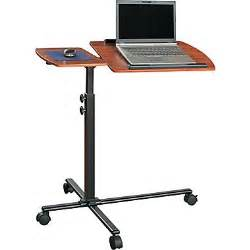 altra furniture adjustable mobile laptop cart staples 174