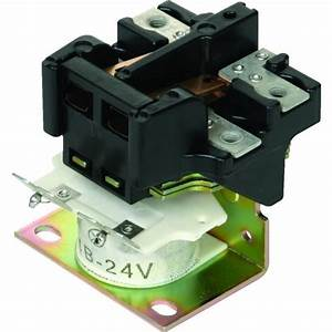 30 Amp Magnetic Line Contactor  Double Pole  Single Throw