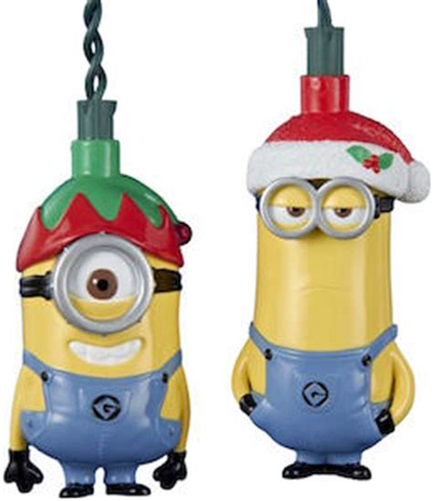 despicable me minion christmas lights