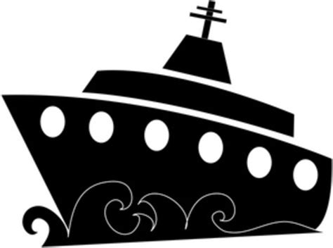 Boat Silhouette | Free Images At Clker.com - Vector Clip Art Online Royalty Free U0026 Public Domain
