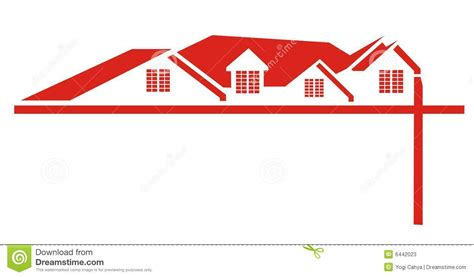 Stock Photos Red House Roof Logo Image 6442023