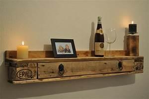 Wandregal Mit Schublade Holz : regal no 4 aus paletten weinregal mit schubladen naturfarben europaletten kaufen ~ Bigdaddyawards.com Haus und Dekorationen