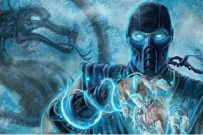 Zero Sub Mortal Kombat Wallpapers Ultra 4k