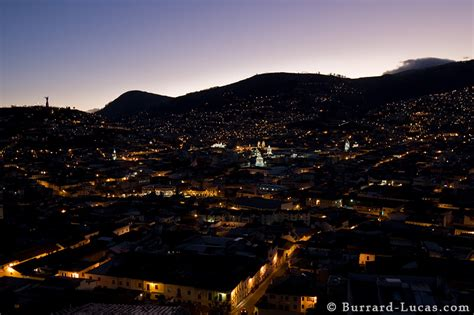 quito  night burrard lucas photography