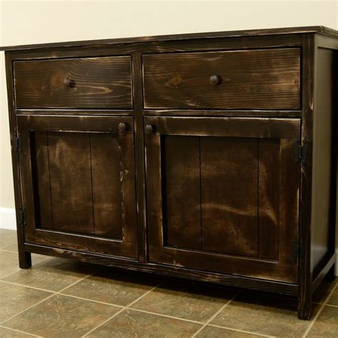 Diy Sideboard by How To Build A Diy Sideboard Buffet Cabinet Crafted