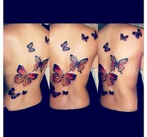 Kleiner Schmetterling Tattoo : 25 sch ne r ckentattoo schmetterling ideen auf pinterest schmetterlingtattoos mit namen ~ Frokenaadalensverden.com Haus und Dekorationen
