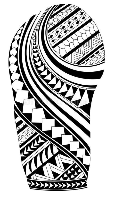 maori tattoo stock vector illustration  black fish