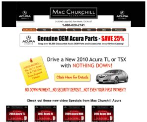 macchurchillacura com mac churchill acura your dallas fort worth new and used acura dealer