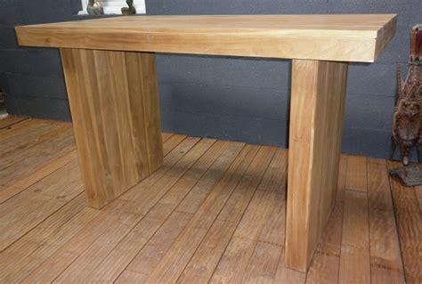 table haute en teck tables hautes table en teck table haute mange debout en teck