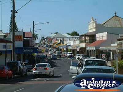 CHARTERS TOWERS MAIN STREET PHOTOGRAPH, CHARTERS TOWERS