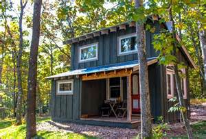 beautiful tiny house on a foundation walden 400 sq ft tiny house by hobbitat spaces